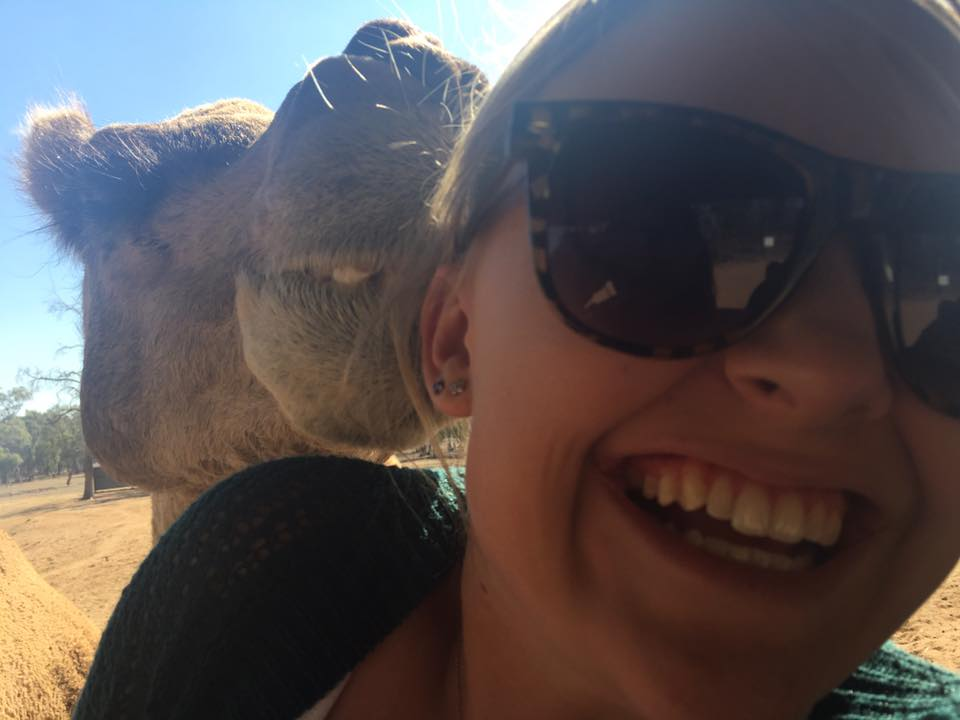 'Thanks you so much for the amazing experience yesterday! Being kissed by a camel is a whole new experience. What you all do here is amazing!!'