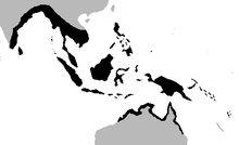 Saltwater Crocodile Population Distribution Map